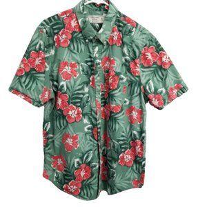 Abercrombie & Fitch Hawaiian Floral Shirt XL